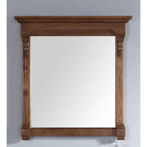 James Martin Brookfield Oak 39.5-inch Mirror - country oak - A/N
