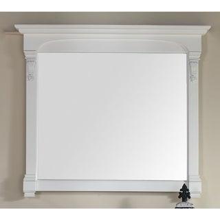 James Martin Brookfield White 47.25-inch Mirror - Cottage White - A/N