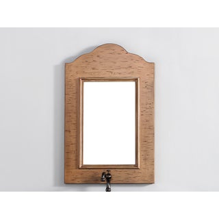 James Martin Distressed Brown 23-inch Mirror