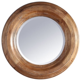James Martin Brown Wood 26-inch Mirror