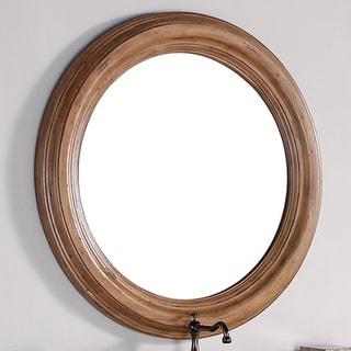 "James Martin Malibu 40"" Mirror - honey alder - A/N"