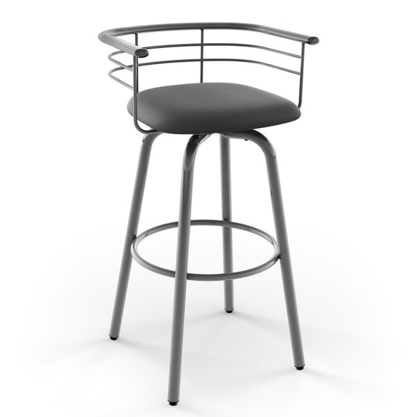 amisco turbo 26 inch swivel metal counter stool free shipping today 17306907. Black Bedroom Furniture Sets. Home Design Ideas