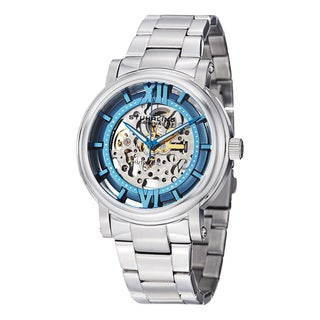 Stuhrling Original Men's Winchester XT Automatic Stainless Steel Bracelet Watch