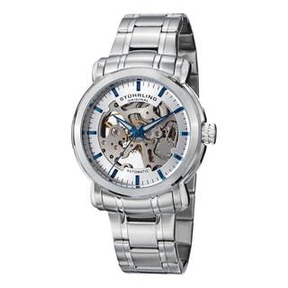 Stuhrling Original Men's Delphi Antium Automatic Stainless Steel Bracelet Watch