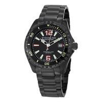 Stuhrling Original Men's Regatta Captain Swiss Quartz Stainless Steel Bracelet Watch