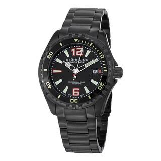 Link to Stuhrling Original Men's Regatta Captain Swiss Quartz Stainless Steel Bracelet Watch Similar Items in Men's Watches
