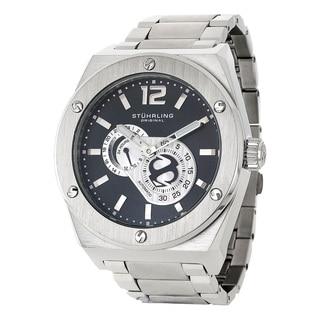 Stuhrling Original Men's Esprit D'Vie Automatic Stainless Steel Bracelet Watch