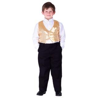 Boy's Sequin Vest