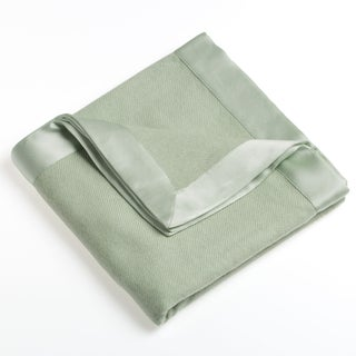 Himalaya Trading Classic 100-percent Cashmere Baby Blanket (Option: Spring Green)