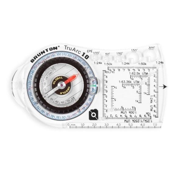 Brunton TruArc10 Baseplate Compass Rare Earth Global Needle