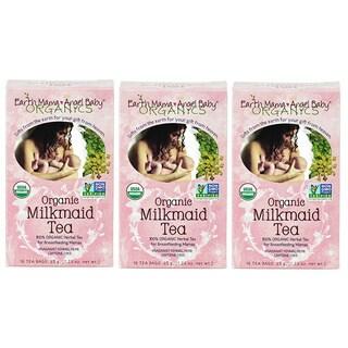 Earth Mama Angel Baby Organic Milkmaid Tea 16 Teabags (Pack of 3)