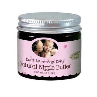 Earth Mama Angel Baby Natural 2-ounce Nipple Butter (Pack of 3)