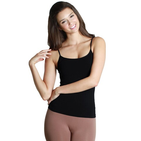 Nikibiki Women's Seamless Short Length Camisole Top