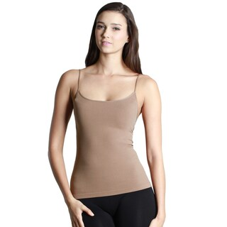 Nikibiki Women's Seamless Short Length Camisole Top