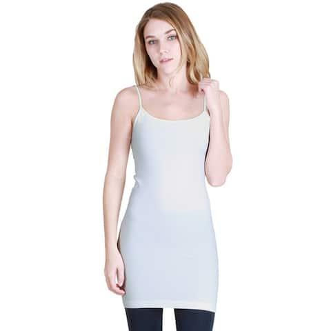 Nikibiki Women's Seamless Camisole Slip Dress