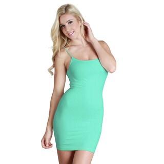 Nikibiki Women's Seamless Camisole Slip Dress (Option: Cockatoo)