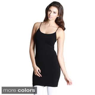 Nikibiki Women's Seamless Camisole Slip Dress|https://ak1.ostkcdn.com/images/products/10180538/P17307186.jpg?impolicy=medium
