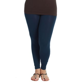 Nikibiki Women's Plus-size Seamless Ankle Length Leggings (5 options available)