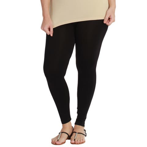 Nikibiki Women's Plus-size Seamless Ankle Length Leggings