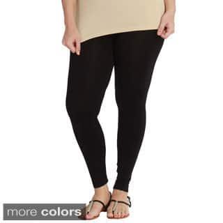 Nikibiki Women's Plus-size Seamless Ankle Length Leggings|https://ak1.ostkcdn.com/images/products/10180541/P17307188.jpg?impolicy=medium
