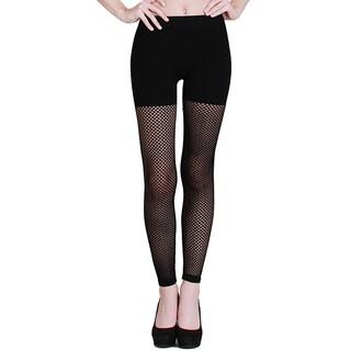 Nikibiki Women's Seamless Net Long Leggings