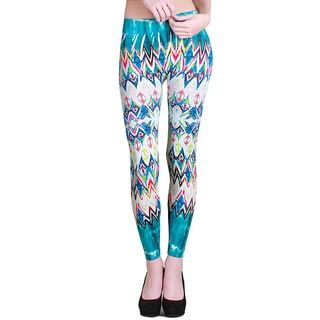 Nikibiki Women's Seamless Kaleidoscope Sublimation Long Leggings