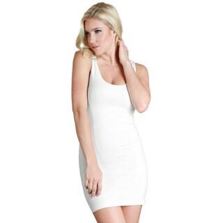 Nikibiki Women's Seamless Plain Jersey Tank Dress (More options available)
