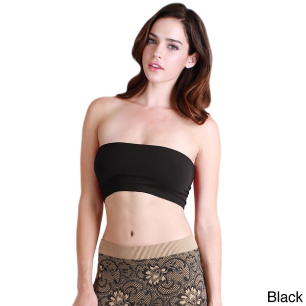 a148381136 Shop Nikibiki Women s Seamless Basic Bandeau Top - Free Shipping On ...