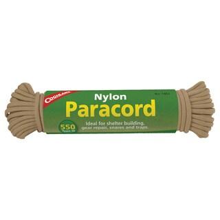 Coghlans Paracord 50-feet Tan