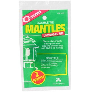 Coghlans Mantle Replacements Double Tie (Pack of 2)