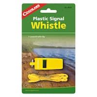 Coghlans Signal Whistle - Yellow Plastic
