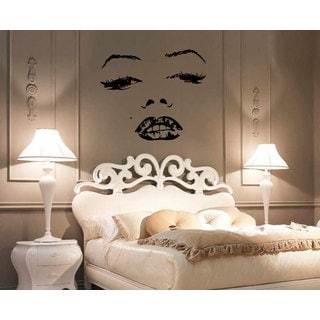 Marilyn Monroe Face Vinyl Sticker Wall Art