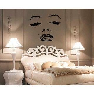 Marilyn Monroe Face Vinyl Sticker Wall Art