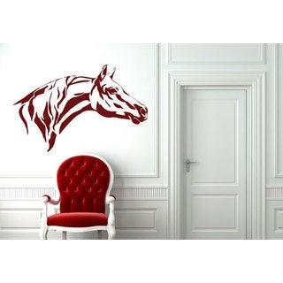 Horse Head Vinyl Sticker Wall Art