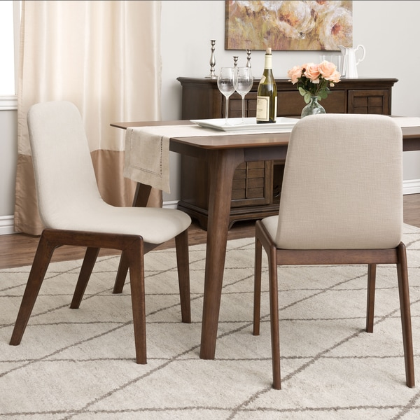 Shop LIBRA Scarborough Platinum Dining Chairs (Set Of 2