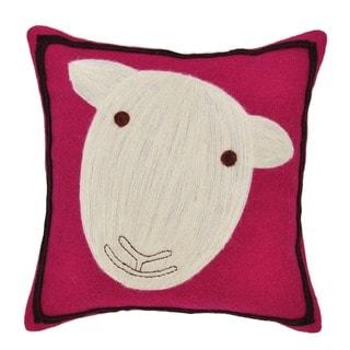 Purple Sheep Decorative Pillow