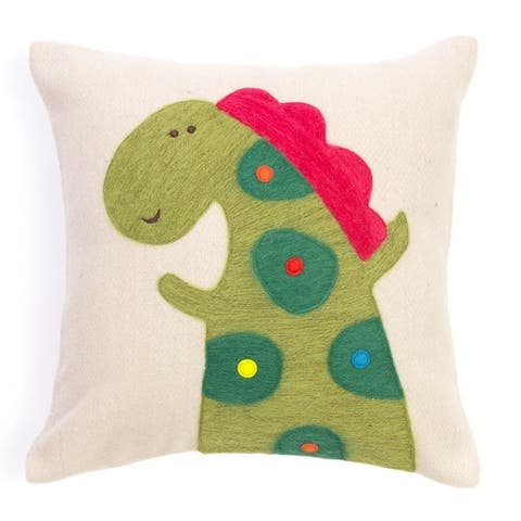 Cottage Home Felt Decorative Children Pillow