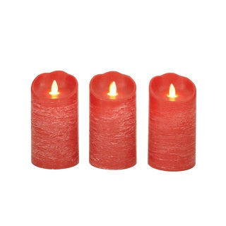 Lovely 54887 Flameless Candle with Remote (Set of 3)