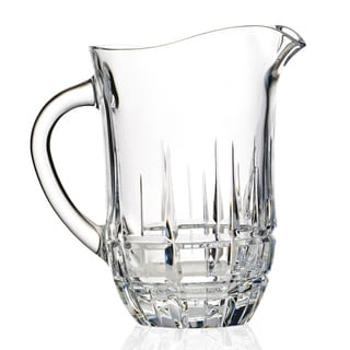 Carrara Collection DaVinci Line Hand-cut Pitcher