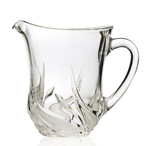 Cetona Collection Hand-cut Pitcher from the DaVinci Line