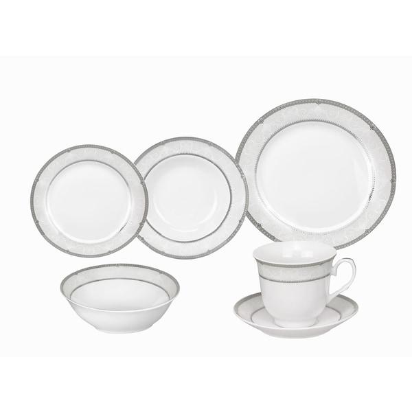 Lorren Home Trends Ballo Porcelain Dinnerware 24-piece Set. Opens flyout.