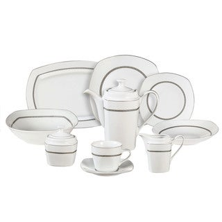 Primavera Porcelain Dinnerware 47-piece Set