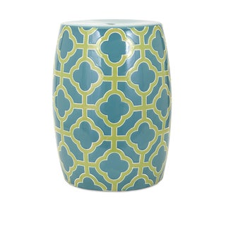 Quadra Ceramic Garden Stool