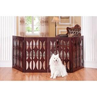 Agatha 4-panel 36-inch Pet Gate