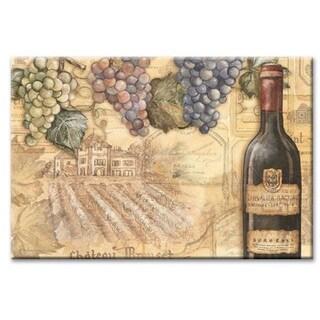 Counterart Glass Vineyards Cutting Board