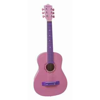 30-inch Pink Student Guitar