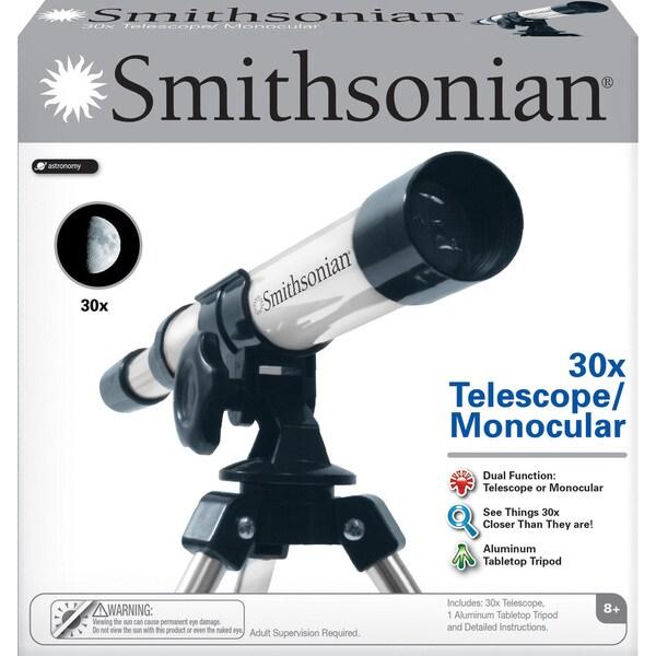Smithsonian 30X Telescope/ Monocular