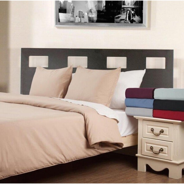 Water & Stain Resistant 3-piece Duvet Cover and Sham Set