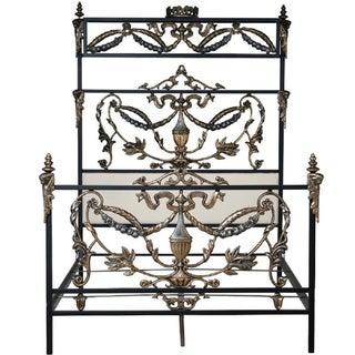 Corsican 41632 Hand-forged Iron Alegra Canopy Bed
