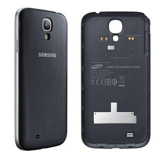 Samsung Galaxy S4 Case Wireless Charging Battery Cover - Black